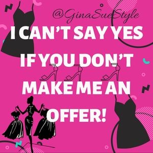 I ACCEPT REASONABLE OFFERS 👚👠